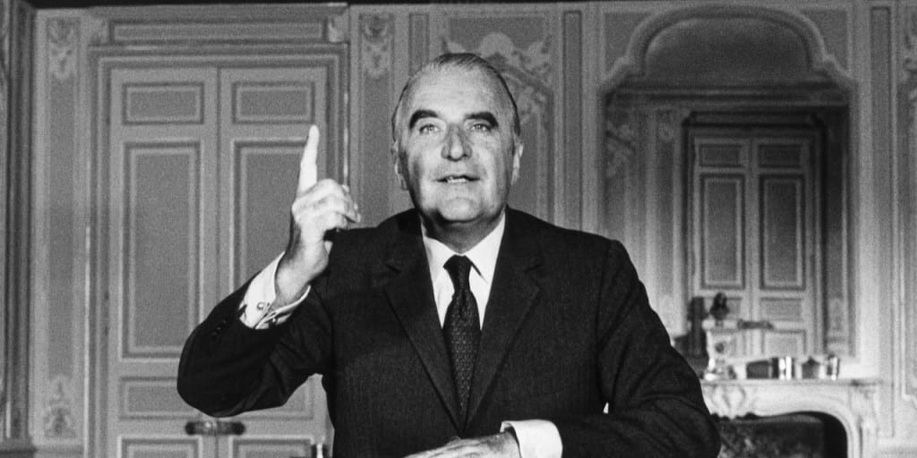 Personnages : Georges Pompidou(1911-1974)